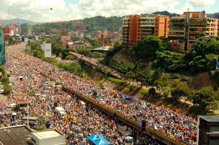 Los 15.000 marchistas según Granmma