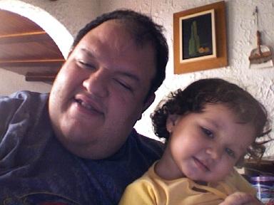 María Victoria y yo